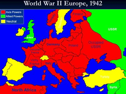 europe ww2 map axis and allies World War II   M ITE